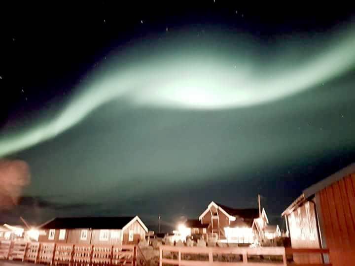 Northern Lights in Å i Lofoten
