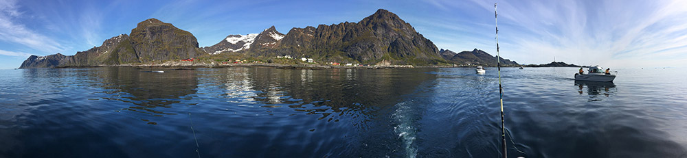 Nordmeer Angelreisen - the surrounding of the Lofoten Islands there are the best fishing grounds of Europe