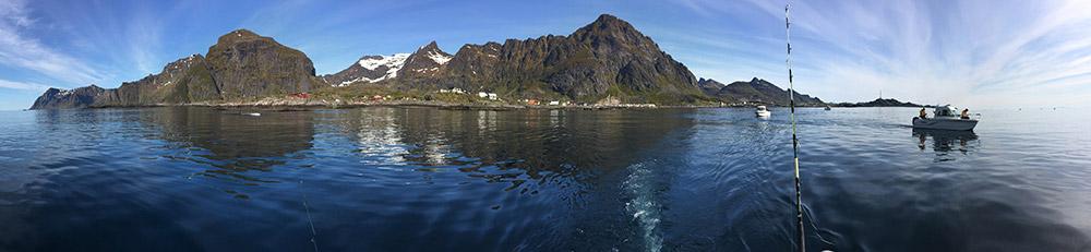 Vor den Lofoten liegen mit die besten Fischgruende Europas.