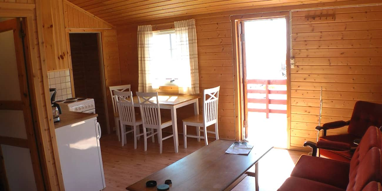 House on the camping ground with 2 bedrooms