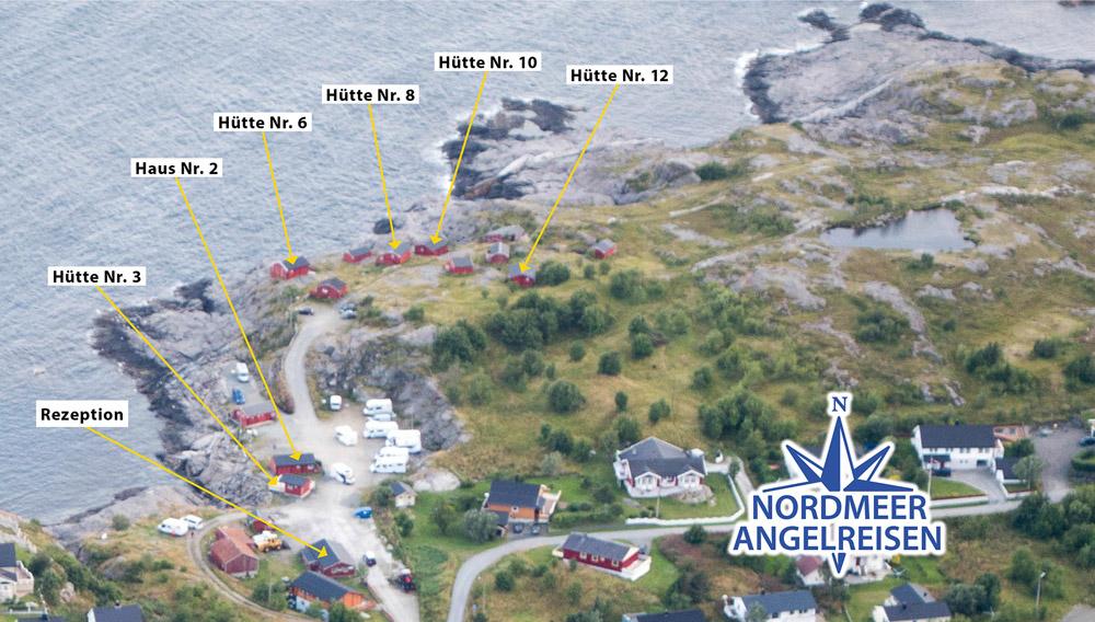 Übersicht aller Unterkünfte in Å / Lofoten