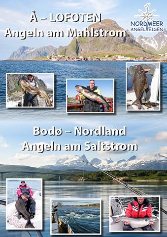 Nordmeer Angelreisen Infobroschüre