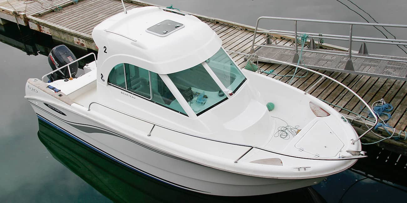 Leihboot in A