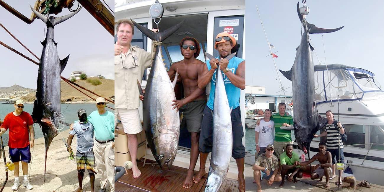 Super-Fänge: Marlin, Thunfisch, Wahoo