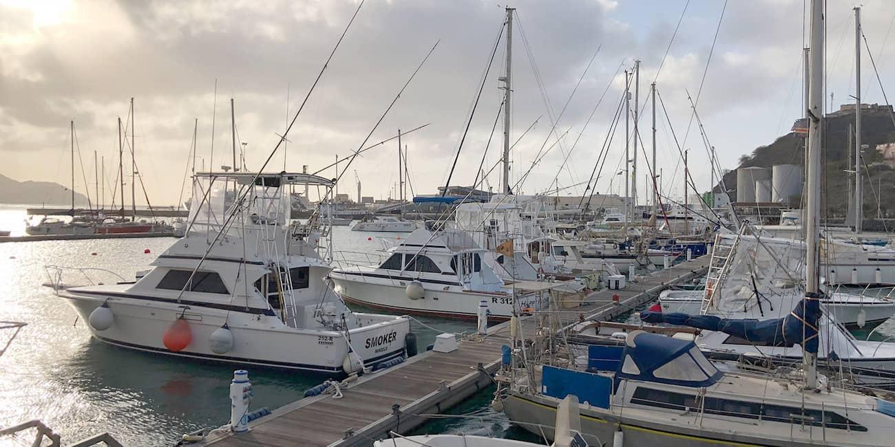 Hafen von Mindelo auf Sao Vicente
