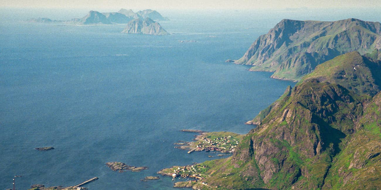 At the southern end of the Lofoten, the Maelstrom curses