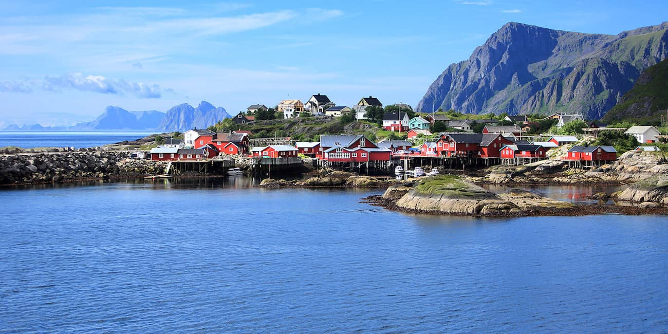 An idyllic fishing village: Å is the starting point for successful fishing trips