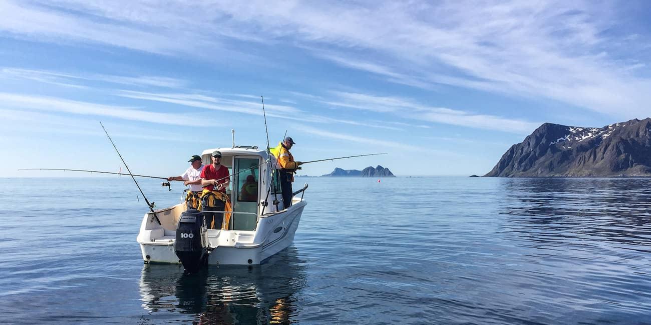 Leihboot vor dem Mahlstrom