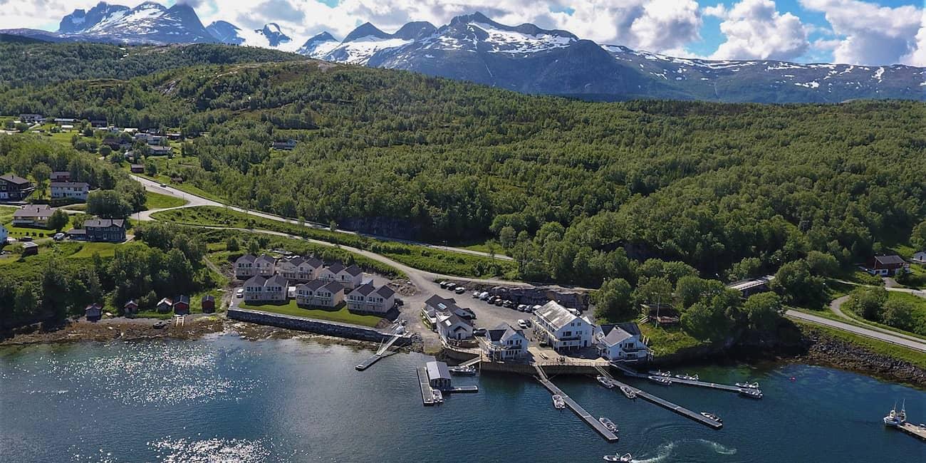 """Das Camp """"Saltstraumen Brygge"""" ist die Top Adresse in der Region"""