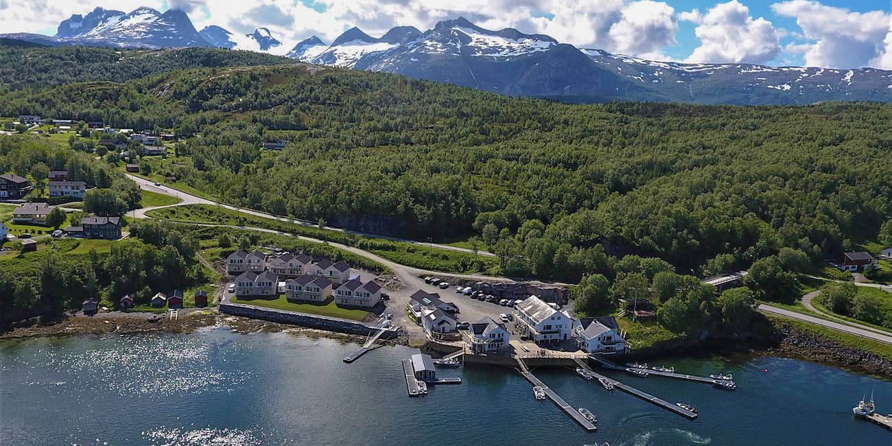 The fishing camp Saltstraumen Brygge is one of the top destinations on the norwegian mainland